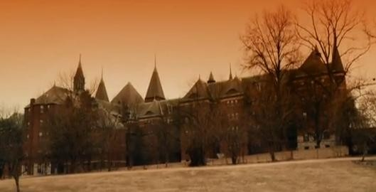 St. Vincent's Hospital (aka Castle Park Apartments) as seen in the film Haunted Boy. - THEHAUNTEDBOYMOVIE.BLOGSPOT.COM
