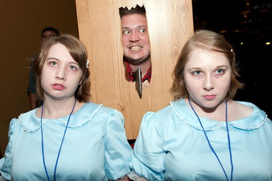 Combining our favorite things from The Shining.