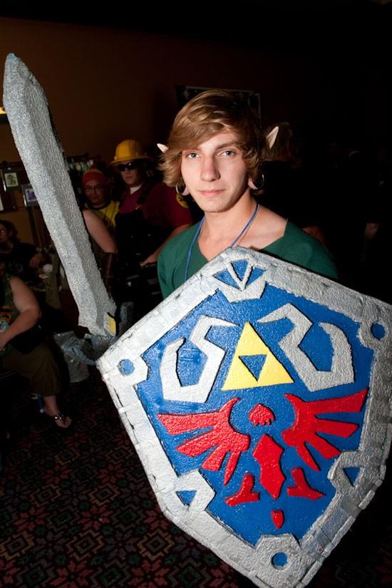 Link from The Legend of Zelda.