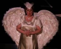 Neva Rae Powers as Florence Foster Jenkins. - PHOTO BY JERRY NAUNHEIM, JR.