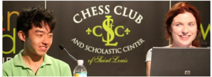 Parker Zhao and Anna Zatonskih are competing in the finals of the U.S. Junior and U.S. Women's Chess Championships this afternoon. - IMAGE VIA