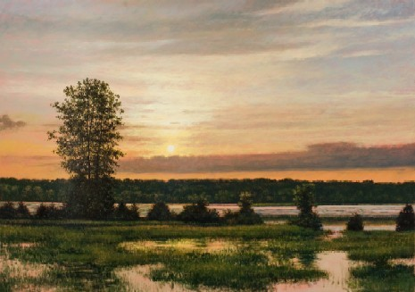 JEFF AELING, SUNSET POND