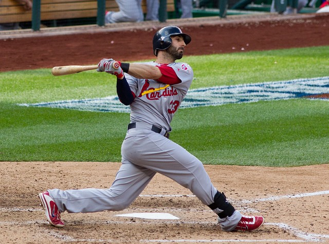 What song does Daniel Descalso play on his way to bat? - KEITH ALLISON ON FLICKR