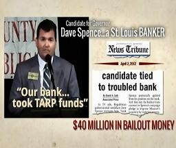 Dave Spence: Shocked that attack ads contain embellishments.