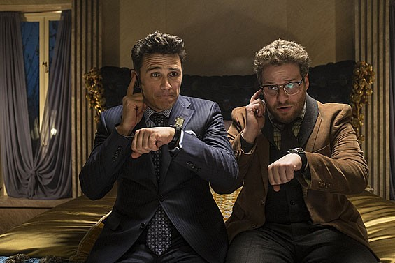James Franco and Seth Rogen in The Interview. - ED ARAQUEL/2013 CTMG, INC.