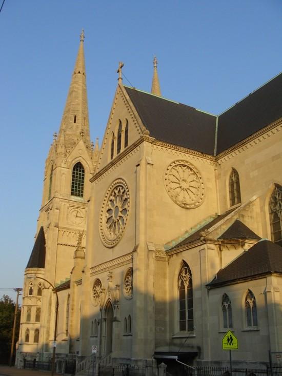 Most Holy Trinity Roman Catholic Church. - PHOTO BY CHRIS NAFFZIGER