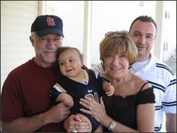 Representative Sue Allen and her family - VIA