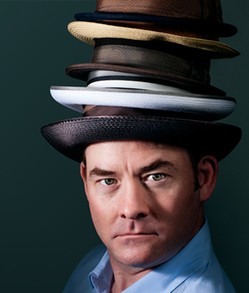 Hats. The more the better. - MANDEE JOHNSON