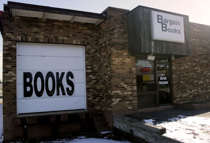 A-1 Book Exchange is the last of more than dozen of bookstores run by Francis Pfeiffer and his son, Ken, over the last 54 years. - DANNY WICENTOWSKI