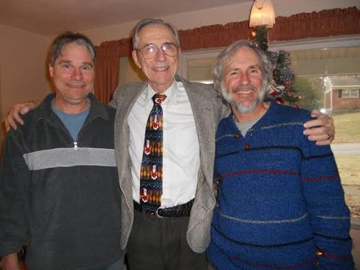Francis Pfeiffer and his two sons, Ken and Curtis - KEN PFEIFFER