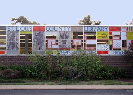 Lewis & Clark Library exterior.