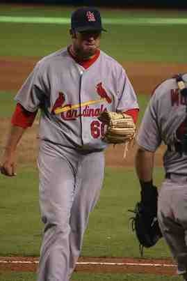 Jason Motte has the brightest star in the Cards' bullpen this season. - COMMONS.WIKIMEDIA.ORG