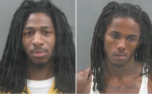 Michael J. Ford (left) and Antoine Barton were charged last week with murder and armed criminal action.