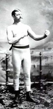 Joe Kelly, seen circa 1885. - COMMONS.WIKIMEDIA.ORG