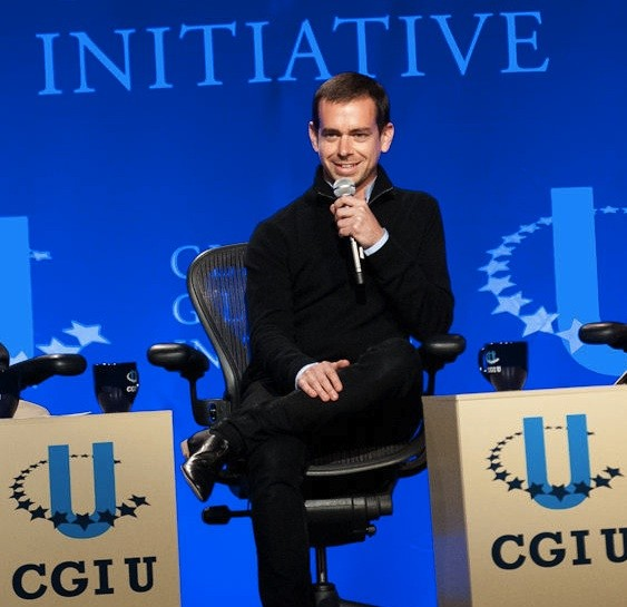 Jack Dorsey in St. Louis earlier this year. - JON GITCHOFF FOR RFT