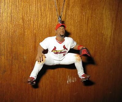 Something tells us Pujols ornaments will not be a hot seller this Christmas.