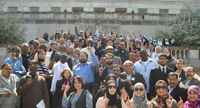 More than a hundred Missouri Muslims visited Jefferson City Wednesday to voice concern over anti-Islam legislation.