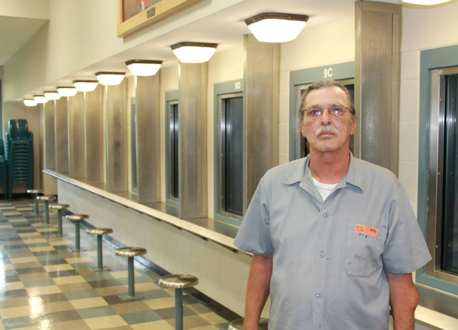 click to enlarge Jeff Mizanskey at the Jefferson City Correctional Center - RAY DOWNS