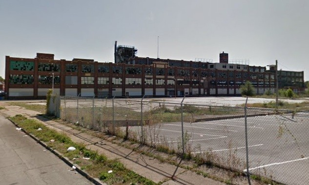 Carter Carburetor site today. - VIA GOOGLE MAPS