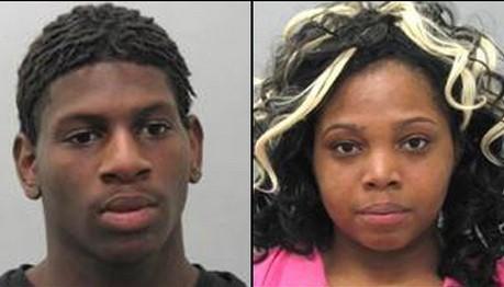 Arvell Pruitt, 19, and Teresa Moss, 18.