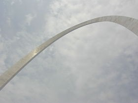 The Arch: symbol of our city's plummeting intelligence. - IMAGE VIA