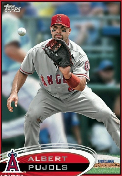 Albert Pujols New Baseball Card News Blog