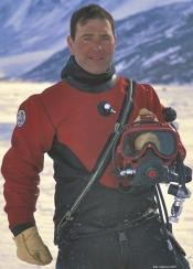 SETI's Dale Andersen boldly dives into freezing ice holes -- for science! - DALE ANDERSEN