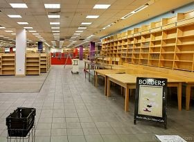 Borders wants your help to make its St. Peters, Chesterfield and Ballwin stores look this...clean and well-lighted. - IMAGE VIA