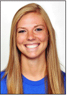 Megan Boken during her days as SLU student/athlete. - SAINT LOUIS UNIVERSITY