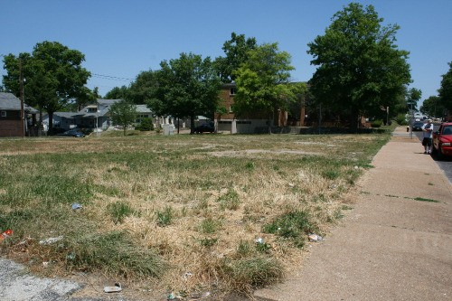 4415 Morganford: Soon, there will be a skate park here. - KHVT