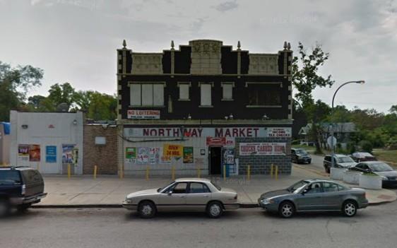 West Florissant Avenue in north St. Louis. - VIA GOOGLE MAPS