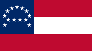 The state argued that the Army of Northern Virginia flag (seen here) is different than the Confederate flag that once flew at Fort Davidson.