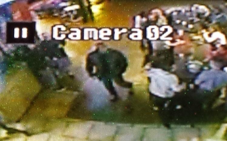 A bar surveillance camera shows Cornealious Michael Anderson on November 16, 2014. - JESSICA LUSSENHOP