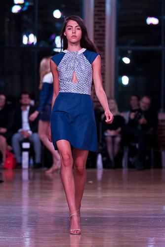 A Wai Ming by Emily Koplar design at St. Louis Fashion Week. - MARK SCHWIGEN