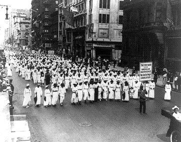 In 1917, New York blacks protested East St. Louis Race Riots - IMAGE VIA