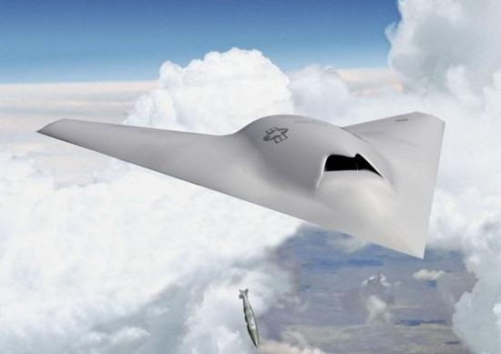 Boeing's bad-ass unmanned jet, built in St. Louis. - BOEING