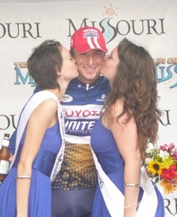 Tour of Missouri enthusiasts say the governor is kissing them off.