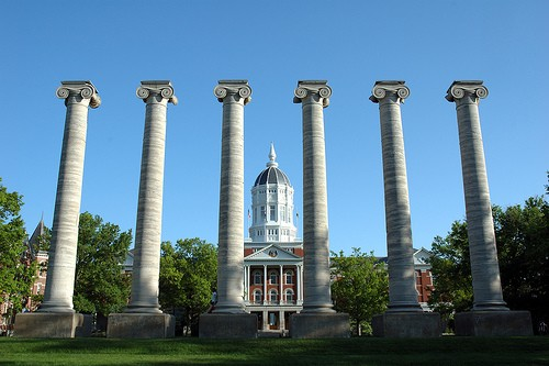 Jesse Hall, University of Missouri - FLICKR.COM/PHOTOS/ADAMPROCTER
