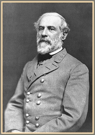 Robert E. Lee's 1863 portrait.