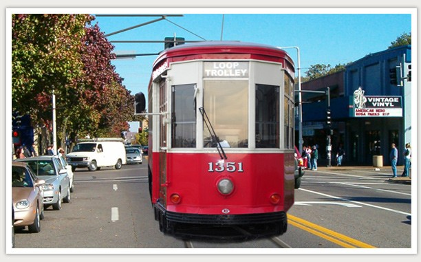 Clang clang clang will go the trolley! - IMAGE VIA