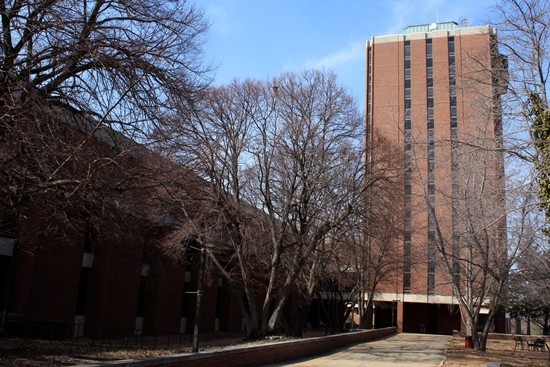 The UMSL campus.