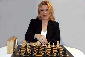 Susan Polgar, Webster University's new queen of chess. - IMAGE VIA