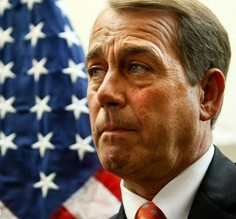 John Boehner not happy about the tanning salon tax in the health care bill - IMAGE VIA