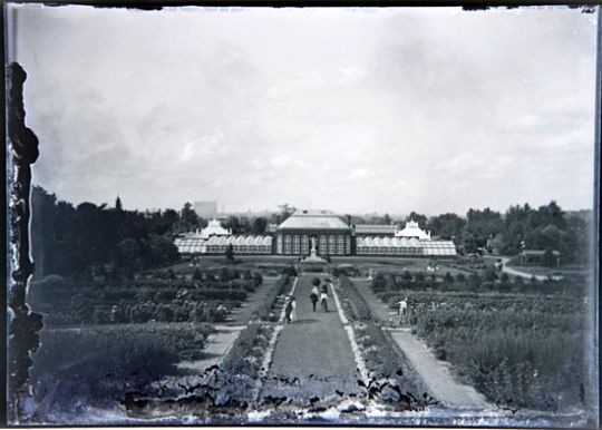 This photo shows an early glimpse of the Missouri Botanical Garden circa 1900. - COURTESY OF JOHN FOSTER