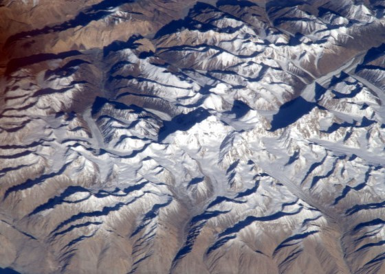 Mt. Everest from space - IMAGE VIA