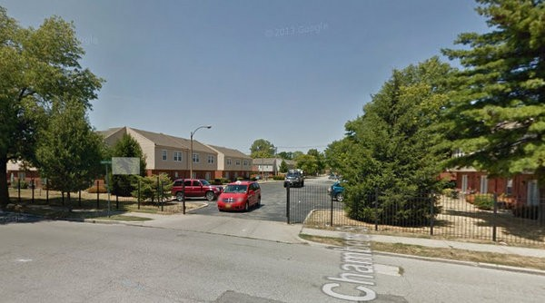 The Bristol Place Townhomes, where 24-year-old Orlanda Blanchard was shot and killed. - GOOGLE MAPS