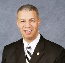 Alderman Gregory Carter, killed Wednesday in a traffic accident.