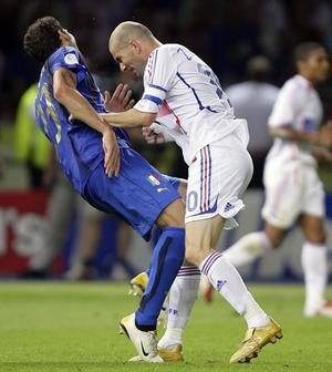 Will Zidane head butt for Haiti in St. Louis this summer? - IMAGE VIA
