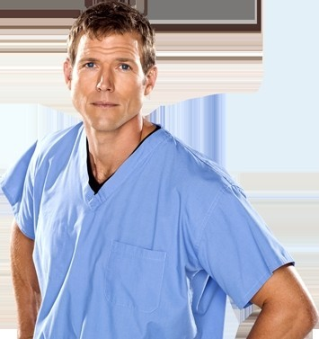 "Dr. Travis Stork of ""The Doctors."""