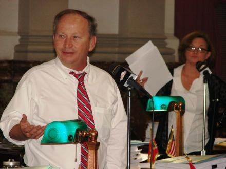 Alderman Conway is one of the board's most vocal members.
